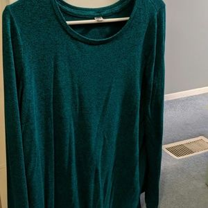 Teal loose sweater